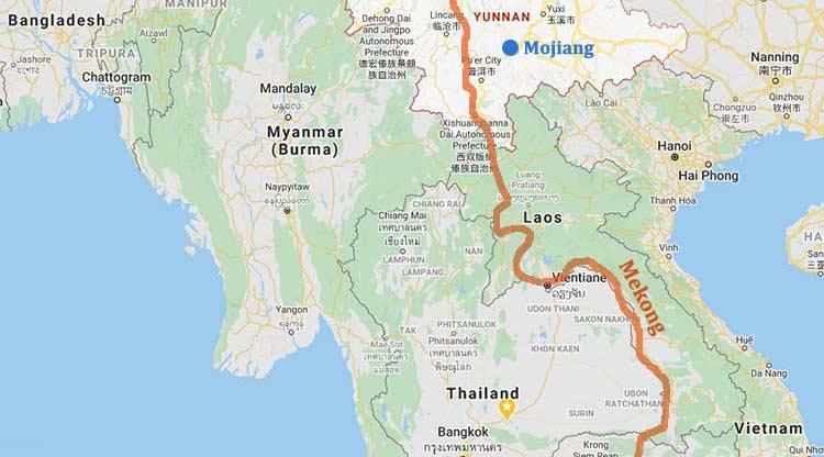 Covid-19-smitte i Mekongdeltaet