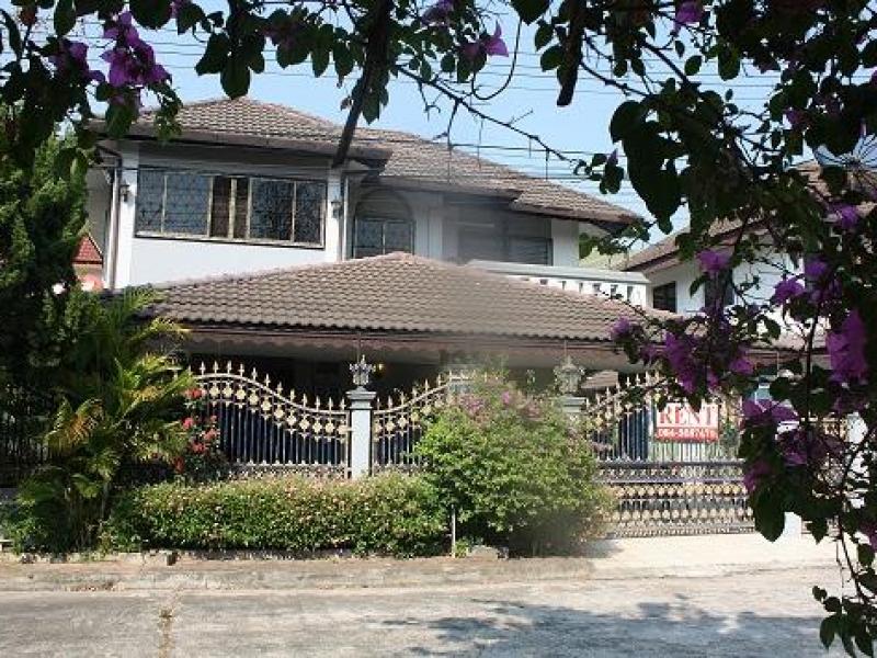 Hus i Chiang Mai