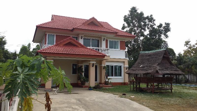 Hus i Ubon Ratchatani