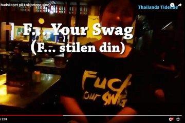 Test: Thaier vet ikke hva som står på t-skjorta