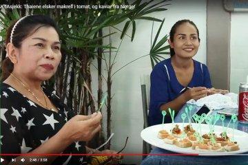 Test: Thaier liker norsk mat!
