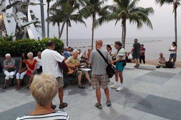 Musikanter uønsket på Jomtien Beach