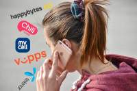 De fire rimeligste alternativene er Happybytes, Chilimobil, MyCall og Vipps. Telenor er dyrest.